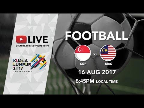 Football ⚽: Singapore 🇸🇬 vs Malaysia 🇲🇾 | 29th SEA Games 2017