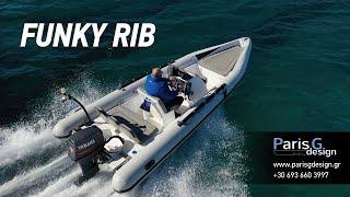 Φουσκωτό σκάφος FUNKY RIB 500 by Paris Giannikos Design