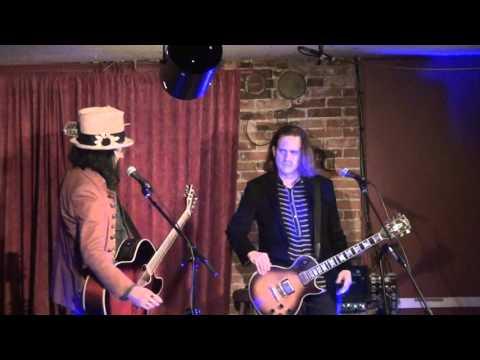 Sharkey McEwen & Joziah Longo 2/14/16 Cafe Lena Saratoga, NY.