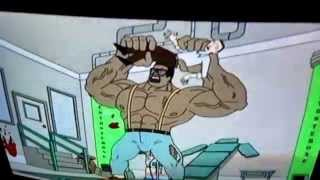 Spike and friends X the show muscle growth from episode 1 part 1 and 2