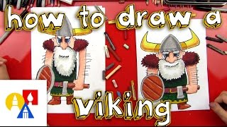 Repeat youtube video How To Draw A Viking