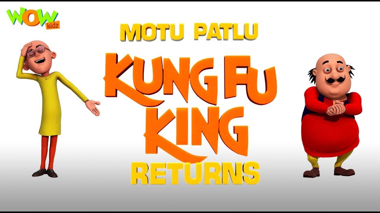 Motu Patlu Kungfu King Returns Motu Patlu Movie English Spanish
