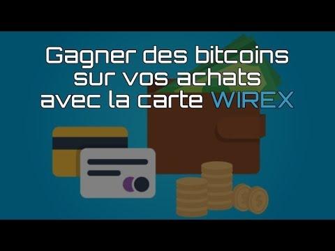 Wirex Karte.Gagner Des Bitcoins Avec La Carte Wirex Cryptoback