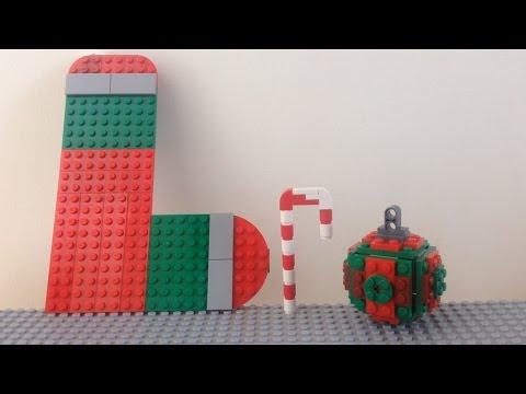 Como hacer decoraciones navide as de lego youtube for Como hacer decoraciones navidenas
