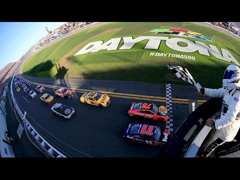 In photo finish, Denny Hamlin wins second straight Daytona 500 as ...