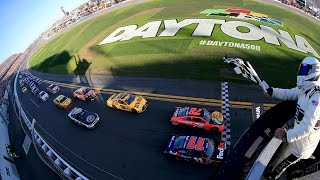 Hamlin Wins By A Nose In The Daytona 500