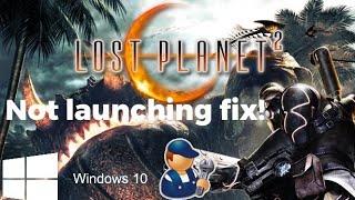 Lost Planet 2 Windows 10 Fix 2020