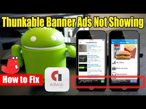 Thunkable Banner Ads Not Showing How to Solve the issue
