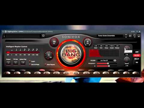 Sonivox Film Score Companion - Big Bang Cinematic Percussion 3/4