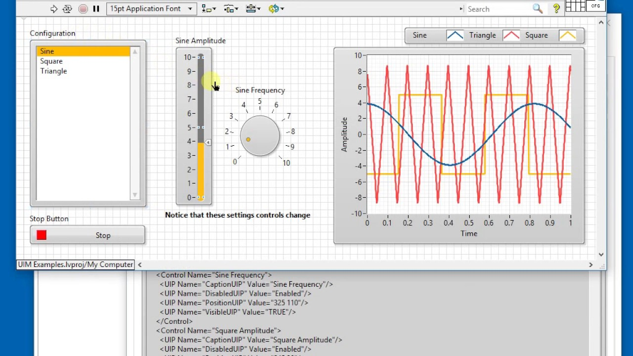 User Interface Manager For Labview Youtube