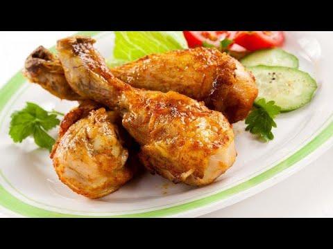 Фаршированные куриные окорочка очень вкусный и простой  домашний рецепт