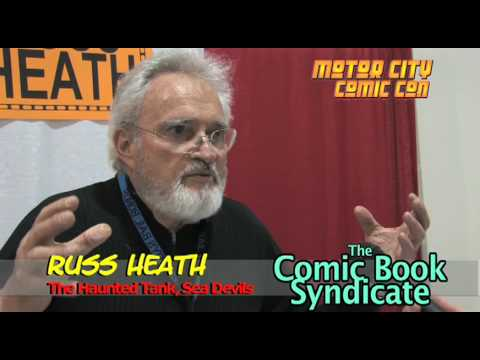 Russ Heath Interview; COMIC BOOK SYNDICATE