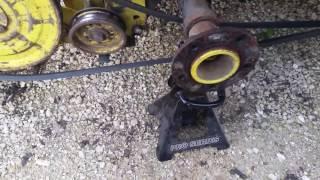 John Deere model 31 tiller belt routing