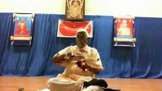 Day 8- Kathopanishad Discourse by Shri Bannanje Govindacharya- at SKV Temple, San Jose