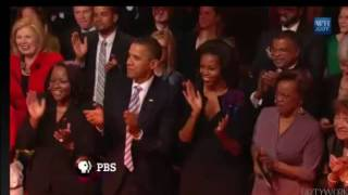 Mick Jagger I CAN'T TURN YOU LOOSE live at the White House 2012