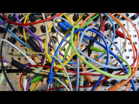 Reducing cable spaghetti in Eurorack with Tendrils