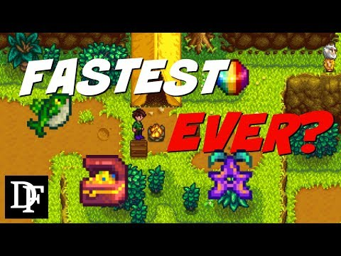 World Record? One Million Gold In Under 20 Minutes! - Stardew Valley Gameplay HD