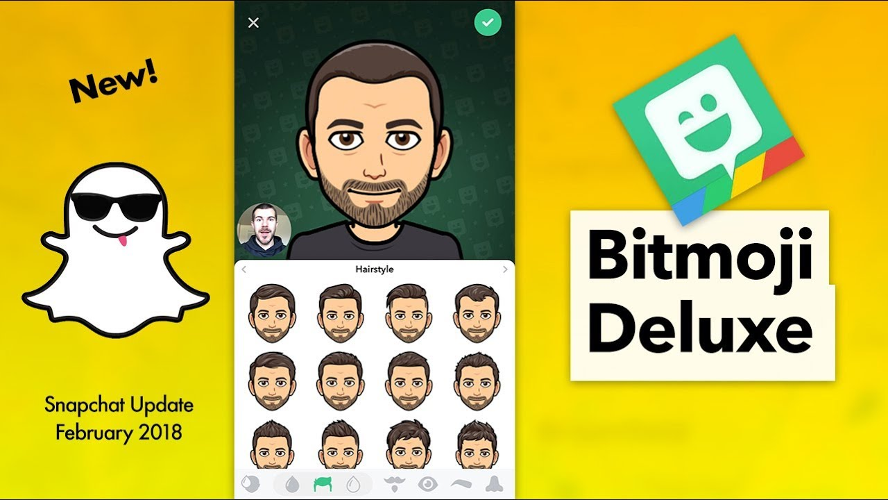 How to Use Snapchat Bitmoji Deluxe