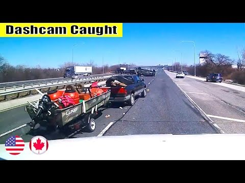 Ultimate North American Cars Driving Fails Compilation - 222 [Dash Cam Caught Video]