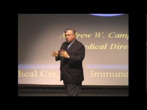 Dr. Andrew Campbell and the effects of mycotoxins on human body.