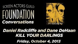 Conversations with Daniel Radcliffe and Dane DeHaan of KILL YOUR DARLINGS