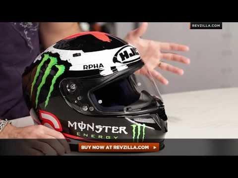 HJC RPHA 10 Lorenzo Replica Helmet Review at RevZilla.com