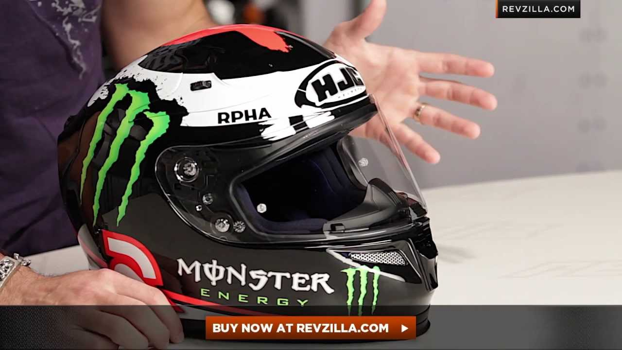Hjc Rpha 10 Lorenzo Replica Helmet Review At Revzilla Com