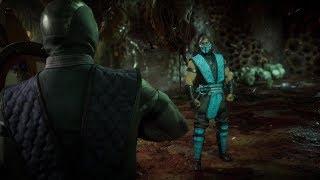 Mortal Kombat 11 - Noob saibot vs sub zero Gameplay (720p 60fps) / Видео