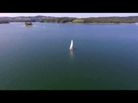 Lake Solina - Poland (part 2 ) DJI PHANTOM 3 DRONE