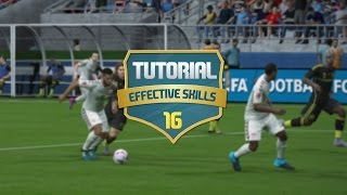 FIFA 16 - MOST EFFECTIVE SKILL MOVES TUTORIAL