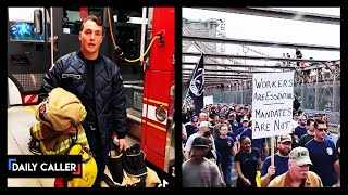 Firefighter Defies Vaccine Mandate And Announces His Resignation On Video