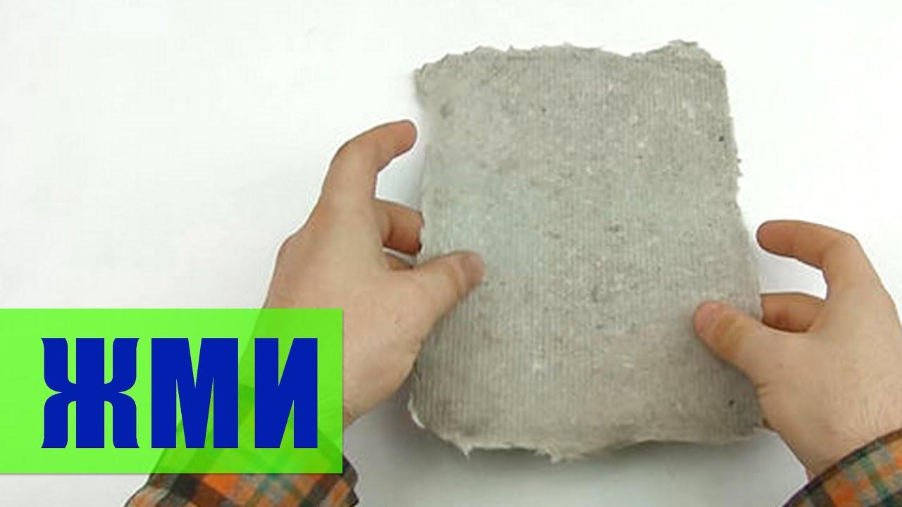 Как сделать бумагу в домашних условиях своими руками