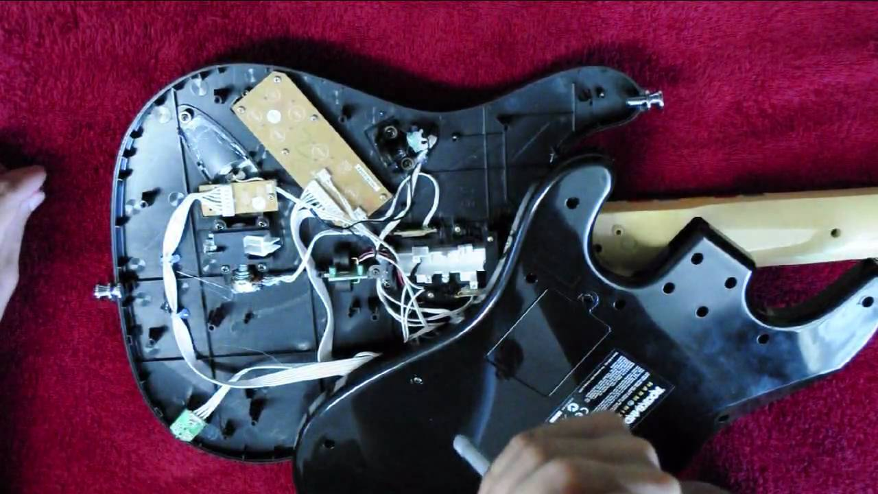 Rock Band Guitar Fix Xbox Fender Stratocaster Guitar Wiring Diagram on