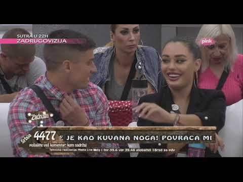 Zadruga 2 - Aleksandra priznala da je David pričao da je Ana lakog morala - 27.04.2019.