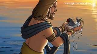 Dashavtar Illustrated Story -  Matsya Avatar...The Fish Incarnation