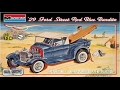 How to Build the Blue Bandito 1929 Ford Street Rod 1:24 Scale Monogram Model Kit #85-4020 Review