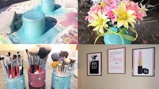 Diy Makeup Room Decor + Giveaway!