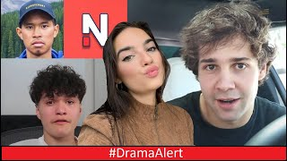 David Dobrik Reacts to Natalie & Todd Smith #DramaAlert Nelk 905 Drama! FaZe Jarvis Fortnite Update!