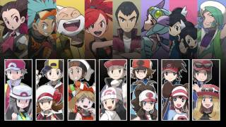 Repeat youtube video Pokemon - All Gym Leader Battle Themes V4
