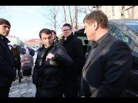 Выступление Врио губернатора Мурманской области Андрей Чибиса в Кандалакше!