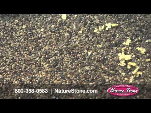 Nature Stone Basement Man Cave -- Football