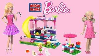 Barbie - Build 'N Play Chelsea Pool Party - MegaBloks