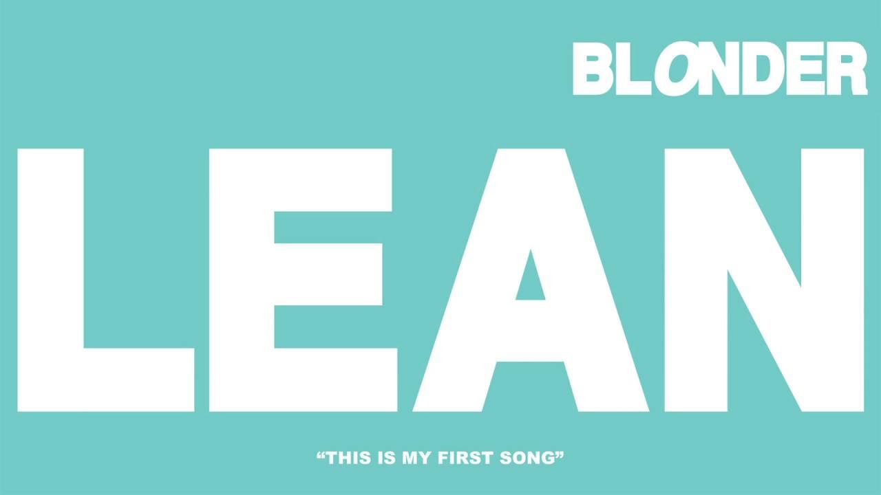 "Download ""Lean"" - Blonder"