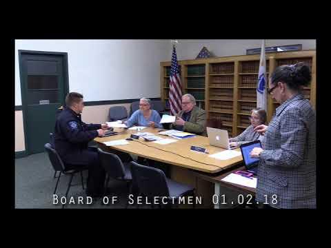 Board of Selectmen 01.02.18