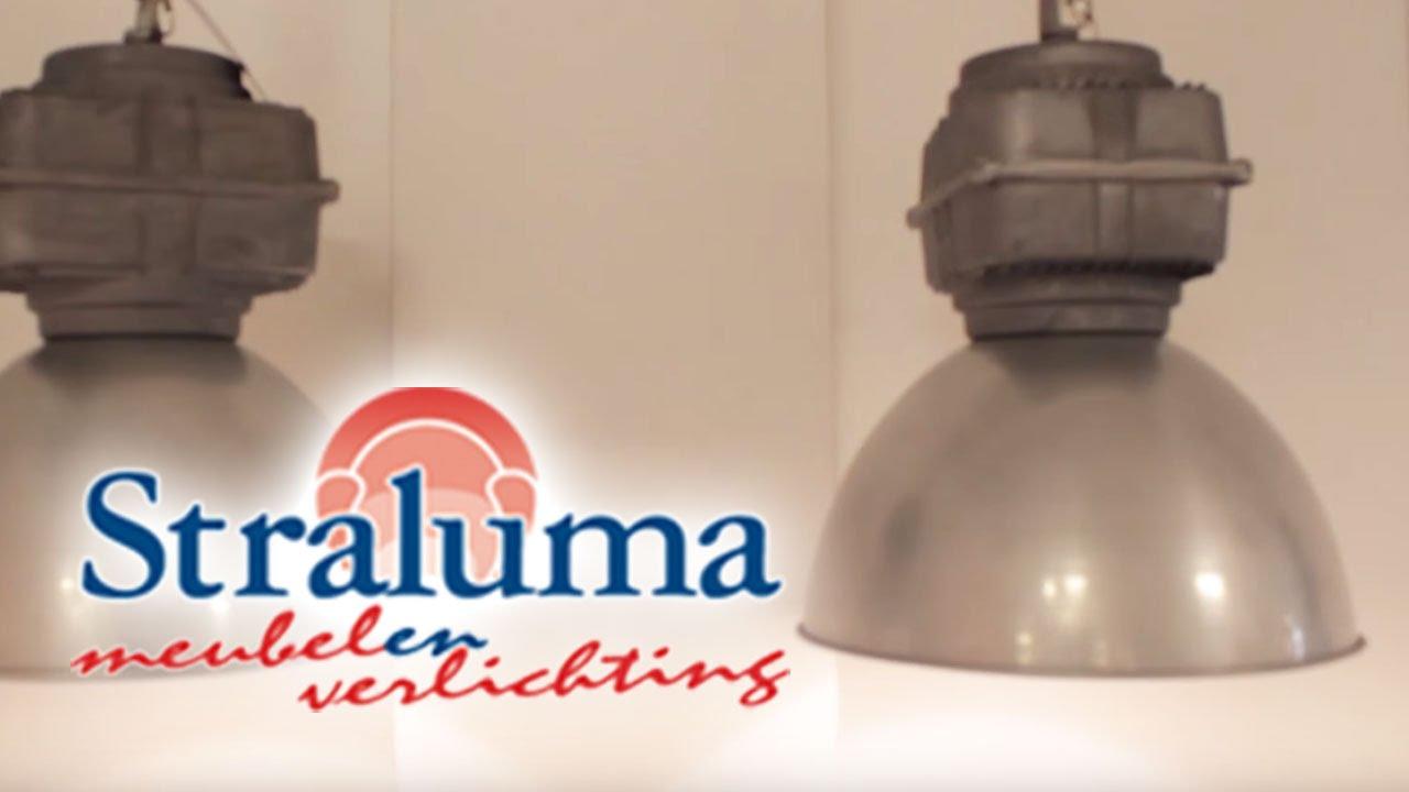 Industriele hanglamp balk 2-lichts | 23210722 | Straluma Meubelen en ...