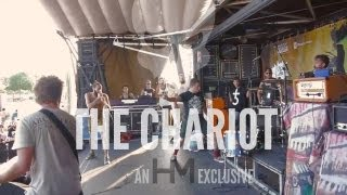 The Chariot Live, Aug. 4, 2013 (Full Set) - Warped Tour, Houston, TX - HM Exclusive!