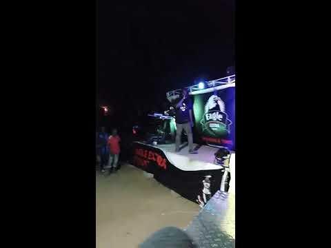 Ibrahim Badingu live at the launching of Eagle extra stout