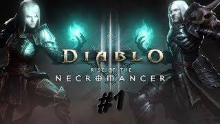 Diablo 3 - Rise of The Necromancer Gameplay Ato 1 (PC) PT-BR #1