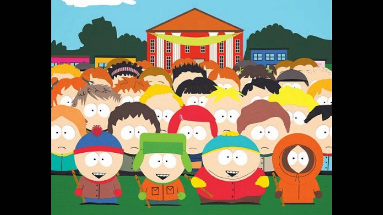 we are the world sung by south park kids youtube