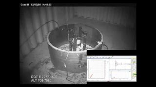 MAE Test and Burst of a SCBA Cylinder - Self Contained Breathing Apparatus